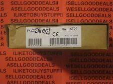 PLC Direct D4-16TD2 16 Point Output Module D416TD2 New