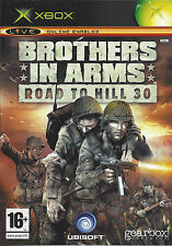 BROTHERS IN ARMS ROAD TO HILL 30 for Xbox - with box & manual - PAL