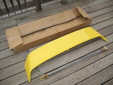 Rare NOS Mitsubishi Lancer Sedia Yellow Spoiler Wing Fin Genuine MZ574268EX