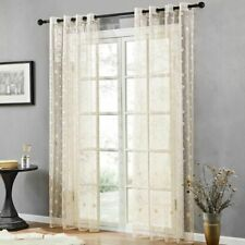 Embroidered Curtain Home Tools Decoration Living Room Modern Fancy Exclusive