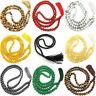8MM Colourful Gem 108 Beads Necklace Bracelet Meditation Wrist Buddhism Bless
