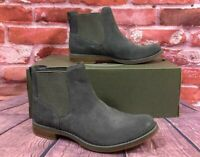 TIMBERLAND WOMEN'S MAGBY CHELSEA BOOTS A1R2X DARK GREY SUEDE