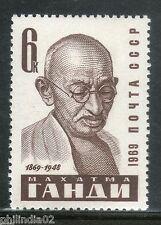 Russia - USSR 1969 Mahatma Gandhi of India Non-Violence MNH