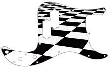 P Bass Precision Pickguard Custom Fender 13 Hole Guitar Pick Guard Checker