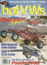 DUNE BUGGIES & HOT VW'S 1999 OCT - TOUGH TRANNY BUILT, T-1 TOP-END ASSEMBLY