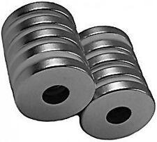 "3/4"" x 1/4"" x 1/8"" Rings - Neodymium Rare Earth Magnet, Grade N48"