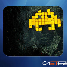retro gaming gamer videojuego space invader alfombrilla  raton mousepad ladtop