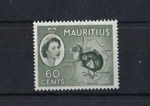 MAURITIUS 1953-58 Dodo 60c Deep Green SG302a MNH
