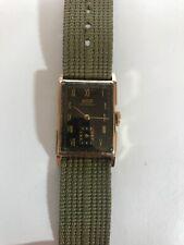 Vintage Rolex Tissot 10k Gold 19.5g Swiss Watch