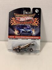 Hot Wheels Dragstrip Demons - Mongoose McEwen's English Leather Corvette - 1:64