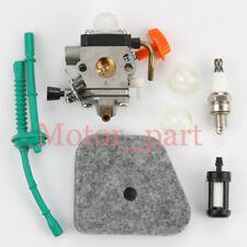 Carburetor For Stihl FS130R FS110RX FS110X  FS100RX FS100R W/ Carb Fuel line Kit