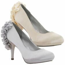 Unbranded Satin Party Heels for Women