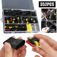 352 Stück Auto Elektrische Kabel Steckverbinder Stecker für KFZ LKW Roller Auto