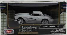 1958 Corvette 1:43 Diecast Model Car From Motormax 73826AC