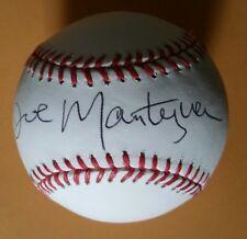 JOE MANTEGNA Autographed Rawlings Official MLB Baseball