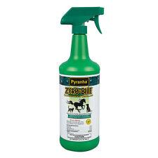 Pyranha Zero Bite Flea Tick Gnat Flies Spray Horse 32oz Natural Insecticide