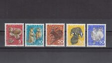 TIMBRE STAMP 4 SUISSE Y&T#759-63 FAUNE ANIMAL HERISSON NEUF**/MNH-MINT 1965 ~B45