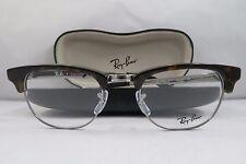 Ray-Ban RB 5294 2012 Dark Tortoise/Silver Clubmaster Eyeglasses 49mm w/Case
