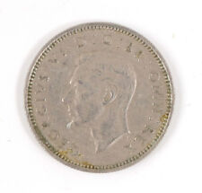 1952 England British Great Britain Sixpence Six 6 Pence George VI Coin