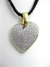 Beautiful Sterling Silver 925 Heart Pendant Necklace