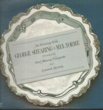 GEORGE SHEARING AND MEL TORME An Evening With LP VINYL USA Concord Jazz 1982 10