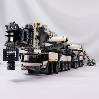 Liebherr LTM11200 Crane RC Crane with Engine Construction Vehicle Bricks Toys