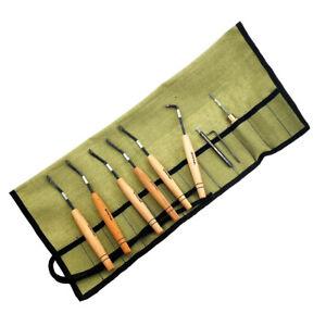 Set of checkering tools Petrograd-tools, type N2, 90°/18lines, 8 tools