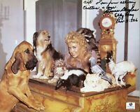 Donna Douglas The Beverly Hillbillies Elly May Clampe Signed Autograph Photo COA