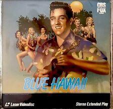 """BLUE HAWAII 12""""LASERDISC MOVIES ELVIS PRESLEY VERY GOOD"""