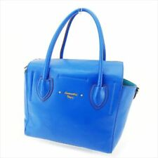 7def2a843 Samantha Vega Bag Tote bag Blue Synthetic leather Woman Authentic Used C3366