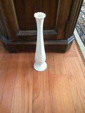 Vintage Lenox Vase White Porcelain Flower Florentine Bud Decorative Ivory