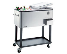 Heller 80L Alfresco Ice Drink Cooler Trolley for BBQ Party In/Outdoor ACC80-NEW!