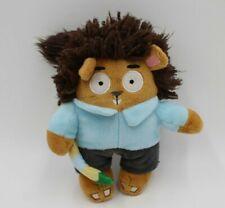 Bark Box Bob Toss The Squirrel Painter Squeaky Dog Toy Plush HTF NICE Paintbrush