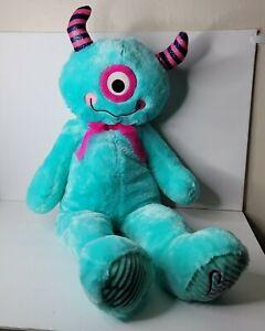 "One Eyed Monster 35"" Blue Plush Stuffed Animal"