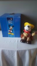 Zak Design Disney Mickey Mouse Cowboy Guitar Cookie Jar NIB