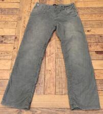Guess Jeans Corduroy Flap Pocket Pant Gray 32W 32L