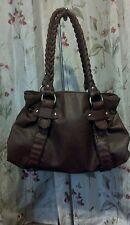 Sabina New York Purse Genuine brown leather boho