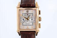Girard Perregaux Vintage 1945 Chronograph 18K Rose Gold Automatic Watch Ref 2599