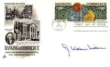 G. WILLIAM MILLER - FIRST DAY COVER SIGNED