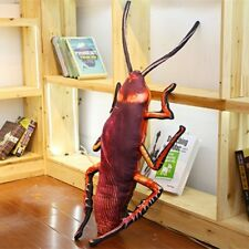 NEW Funny Huge Fake Cockroach Plush Toy Stuffed Insect Toy Halloween Party Prop