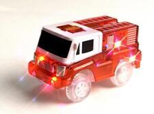 Magic Tracks Kids Light-Up Fire Truck Toy Racing 5 LED Lights MAGTRA-CAR-F
