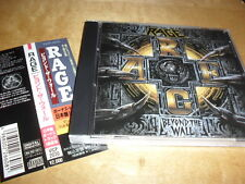 RAGE -BEYOND THE WALL- VERY HARD TO FIND RARE JAPANESE CD EXTRA TRACK 1ST PRESS