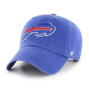 Buffalo Bills '47 Blue Clean Up Adjustable On Field Cotton Hat Cap