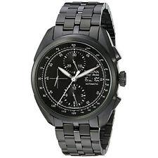 Bulova ACCU Swiss Men's 65C116 Tellaro Chronograph Automatic Black Watch