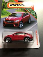 2019 MATCHBOX #10 MERCEDES-BENZ GLE COUPE☆metallic red☆MBX ROAD TRIP