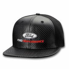 Ford Performance Carbon Fiber Flat Bill Black Hat