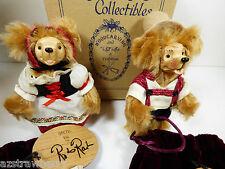 Set Wee Whittles Robert Raikes Hansel & Gretel BEARS Mint box Signed COA
