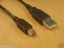 5 Pin Mini B To A USB 2.0 Cable Mp3 Mp4 Camera- 150cm
