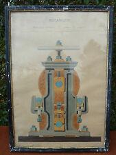 Ancien tableau mécanique, pour déco d'atelier loft industriel cadre Napoléon III