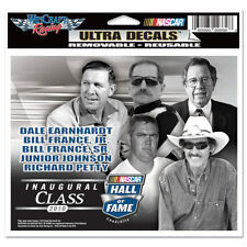INAUGURAL CLASS 2010 HALL of FAME 6X4 NASCAR ULTRA DECAL L@@K
